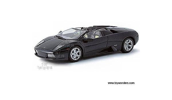 MAISTO LAMBORGHINI MURCIELAGO ROADSTER 1//18 DIECAST MODEL CAR RED