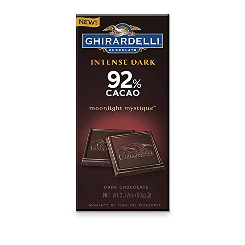 - Ghirardelli Intense Dark 92% Cacao Moonlight Mystique
