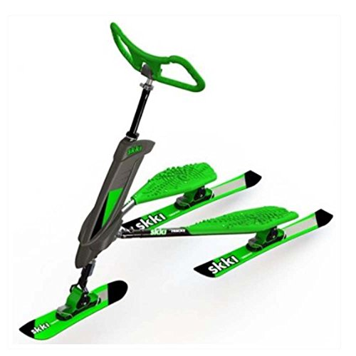 Trikke Skki Carving Scooter Green with Black Accents