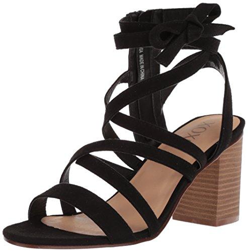 XOXO Women's Emosa Heeled Sandal Black AmedPMyc