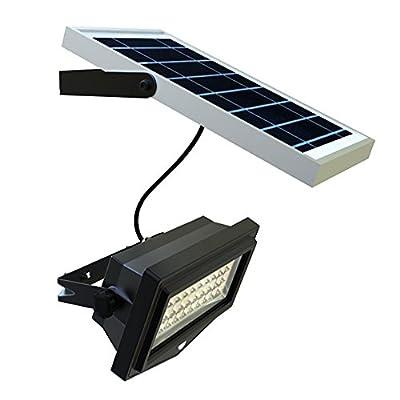 Solar Powered Flood Lights - 1000 Lumens, Outdoor Solar Flood Security Light - Commercial or Residential LED Flood Lights - 6000K
