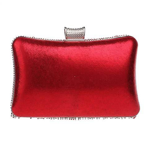 para hombro 5 plata mujer Bolso UYHB438 Plateado BESTWALED Red al qfPwtxB