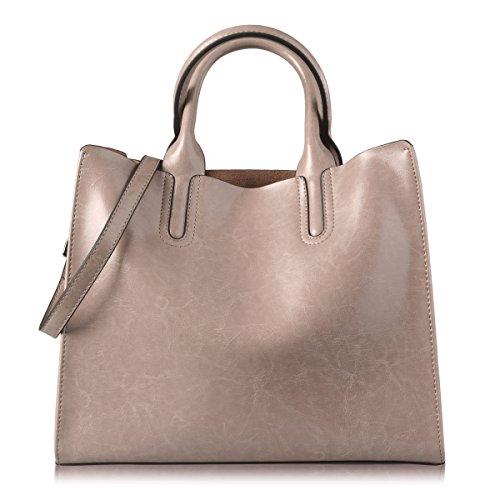 Tote Pink Fabric Handbags - 8
