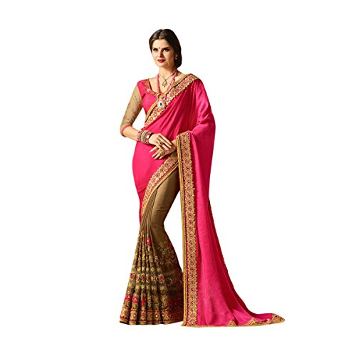 r Bollywood Saree Sari With Latest Stylish Pattern On Blouse Just Launched Women Wedding Ceremony Party Wear Diwali Festive By Ethnic Emporium 526 by ETHNIC EMPORIUM