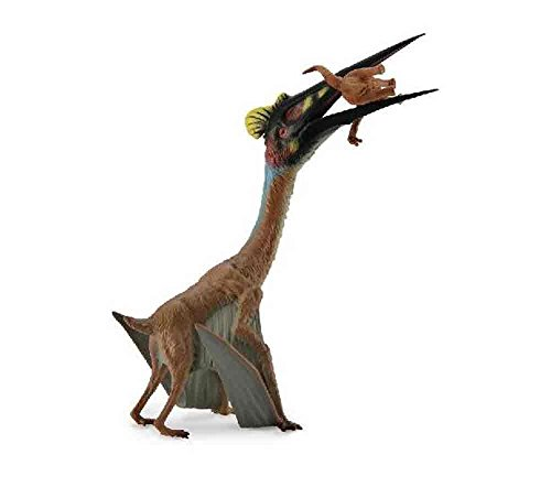 CollectA Prehistoric Life Quetzalcoatlus with Prey Dinosaur Toy Figure - Paleontologist Approved Hand Painted Model (About Facts England Christmas In)