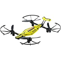 Kyosho RC Drone Racer Ready-To-Fly Drone with Auto-Altitude Sonar Sensors 1:18-scale Smashing Yellow