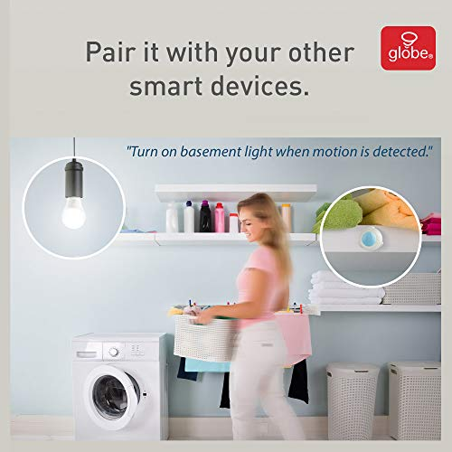 41lSDAZjs3L - Globe Electric 50026 Collection Smart Motion Sensor, White