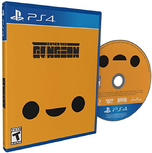 Details about Enter The Gungeon PS4 Sony Playstation 4 Reversible Cover + Shotgun KIN Skin - USA Region Free