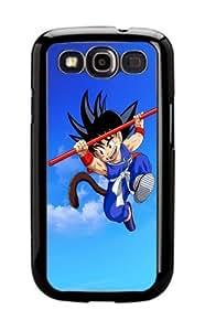 Dg3 Silicone Cover Case Samsung Galaxy S3 Dragonball Goku Kid Manga