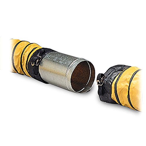 Allegro Industries 960001 DucttoDuct Connector for 16 Ducting by Allegro Industries B00TD6EERM
