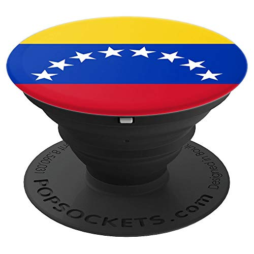 PopSockets de Venezuela con la bandera - PopSockets Grip and Stand for Phones and Tablets