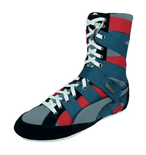 PUMA by Alexander McQueen AMQ Cutman Hi Womens Boots-Grey-7.5