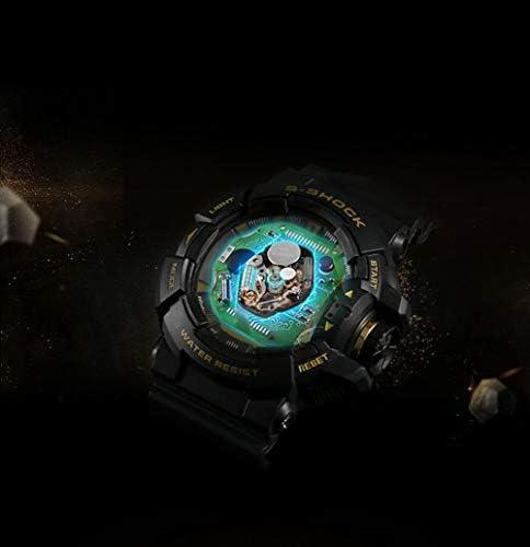 JINRU Mens Montre de Sport numérique, Militaires imperméables Montres Boussole chronomètre podomètre Montre-Bracelet pour Les Hommes