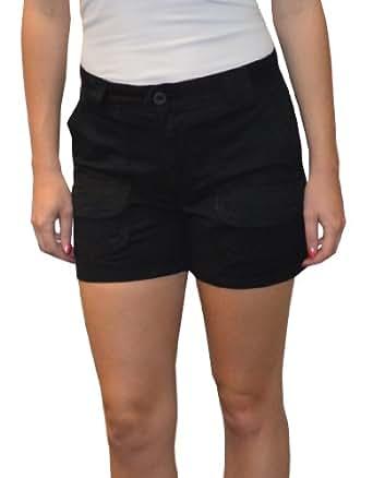 Sabree Missy Cargo Short Black-4