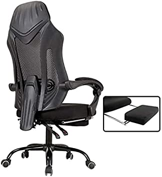 Dbl Chairs Computer Chair Main Comfortable Sedentary Gaming Chair Game Reclining Office Chair Desk Boss Chair Desk Chairs Size Upgraded Version Black Amazon De Baumarkt