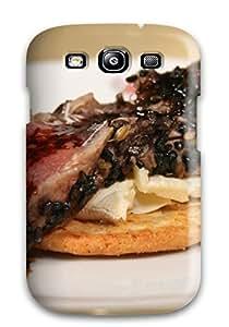 Premium KSEgDqd7921lRuuO Case With Scratch-resistant/ Seared Tuna Appetizer Case Cover For Galaxy S3