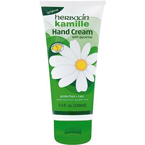 Herbacin Kamille with Glycerine Hand Cream 3.4 oz Pack of 12