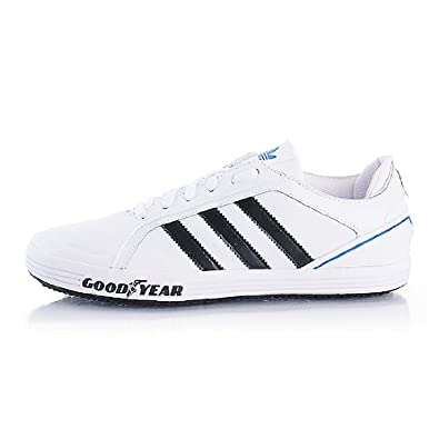 buy online 3758f 336c5 G44891Adidas Goodyear Driver Vulc White40 UK 6, 5 Amazon.co.uk Shoes   Bags