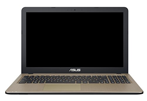 Asus F540SA-XX073D 39,60 cm (15,6 Zoll HD Glare Type) Notebook (Intel Celeron N3050, 4GB RAM, 500GB HDD, Intel HD-Grafik, DVD, DOS) braun