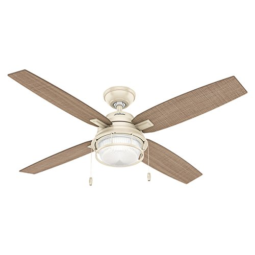 Hunter Outdoor Ceiling Fan Cream 59213 Ocala 52