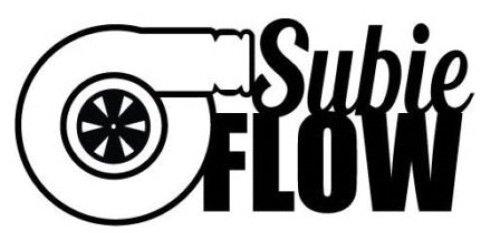 Subie flow subaru STI WRX Impreza BRZ turbo window sticker vinyl decal (Subaru Sti Decals compare prices)