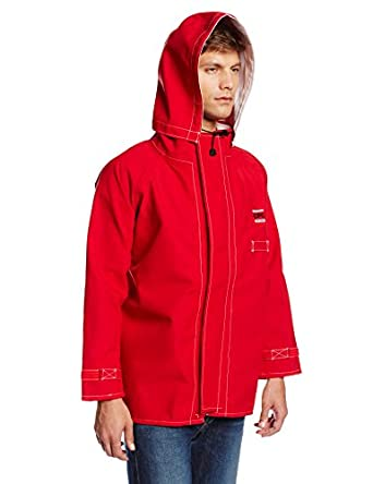 Ansell Sawyer-Tower 66-664 CPC Polyester Trilaminate 5 Piece Hood, Red