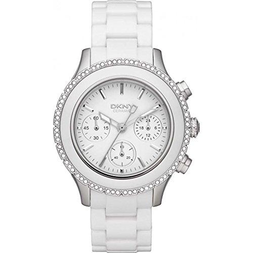 DKNY Ceramic Chronograph with Glitz Women's watch -