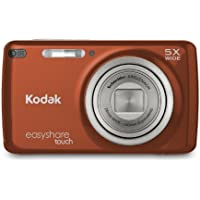 Kodak EasyShare Touch M577 14 MP Digital Camera with 5x Optical Zoom and 3-Inch LCD Touchscreen - RedOrange Basic Intro Review Image