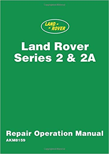 land rover series 2 workshop manual free download