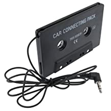 eForCity Car Audio Cassette Tape Adapter Compatible with iPod/Sony Mp3 CD