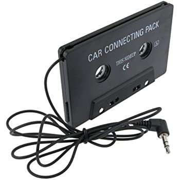 Accessories Audio & Video Accessories ZOMTOP 3.5mm Car AUX Audio Tape Cassette Adapter Converter for Car CD Radio Player MP3 Magnetic Tape Player Recorder Receiver Cassette