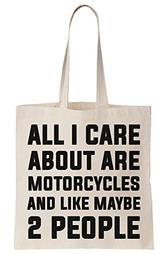 About All I Bag People 2 Are And Care Maybe Like Canvas Tote Motorcycles pTwEwf1q
