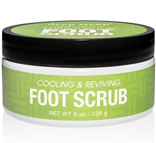 Deep Steep Natural Candy Mint Therapeutic Foot Scrub - 8 (Deep Steep Candy)