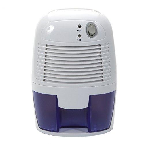 Mini Energy Saving Air Compact Dehumidifier Portable Dryer for Home Bedroom Living Room Closet Bathroom Kitchen Garage Damp (500ml)