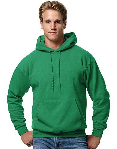 Hanes ComfortBlend EcoSmart Men`s Pullover Hoodie Sweatshirt Kelly Green ()