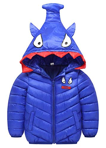 239721c1a5f2 Happy Cherry Toddler Winter Down Coat Cute Hood Cotton Puffer Jacket ...