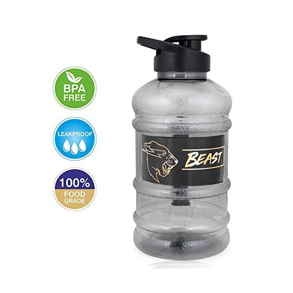 Chubs Pro Fitness Series Cyclone Shaker with Trio Mixer 500 ml Shaker (Pack of 1, Black, Plastic) 2021 July AESTHETIC LARGE BOTTLE: Holds 1500 ML capacity of liquid. Made from advanced, eco-friendly, safe and durable BPA less food grade plastic with scientifically designed strainer for lump free shake. INNOVATIVE & TRANSPARENT STRONG BODY: Designed to look trendy with fastenable lid and flip cover. The embossed capacity marking & transparent body helps you spot the level of liquid inside so you stay on track to hit your daily water intake. High quality food grade is durable for long time use with absolutely dust & leak-proof cover. ERGONOMICALLY HANDLE: Antislip comfort grip makes it convenient for drinking and pouring. Disinfect your bottle once in a while with a solution of water and a little bleach.