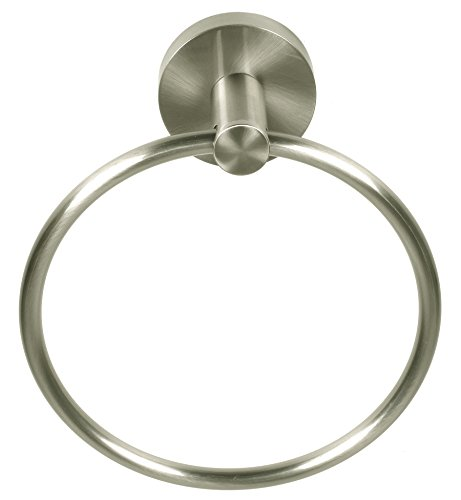 Better Home Products 3904SN Skyline Towel Ring, Satin Nickel