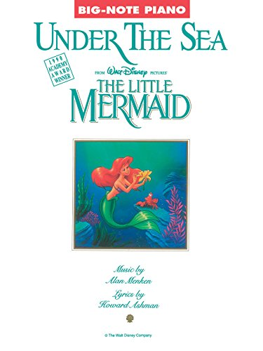 Little Mermaid Big Note - Under The Sea (From 'The Little Mermaid') - Big-Note Piano