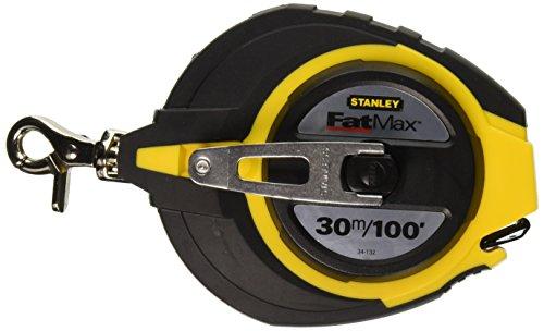 Stanley 34-132 30m/100x 3/8-Inch FatMax Long Tape Rule (Metric Tape Measure Stanley)