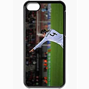 Personalized iPhone 5C Cell phone Case/Cover Skin 37654 Black by mcsharks