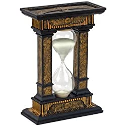 Design Toscano 7 in. Sands of Time Egyptian Hourglass