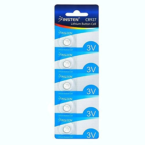5 Pcs Cr927 Lithium Battery 3V Button Cell Watch Calculator Pda Organizers