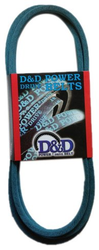 D/&D PowerDrive 130989 Ransomes Kevlar Replacement Belt 4LK 91 Length 1 -Band Rubber 91 Length OffRoad Belts