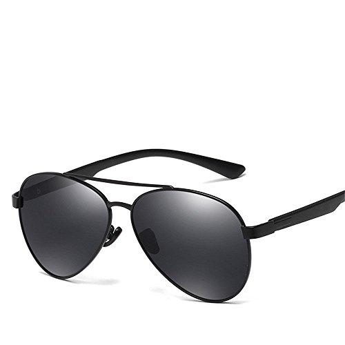 Chahua Chez les hommes de la mode des lunettes de soleil pour hommes lunettes de métal européens et américains, lunettes de conduite