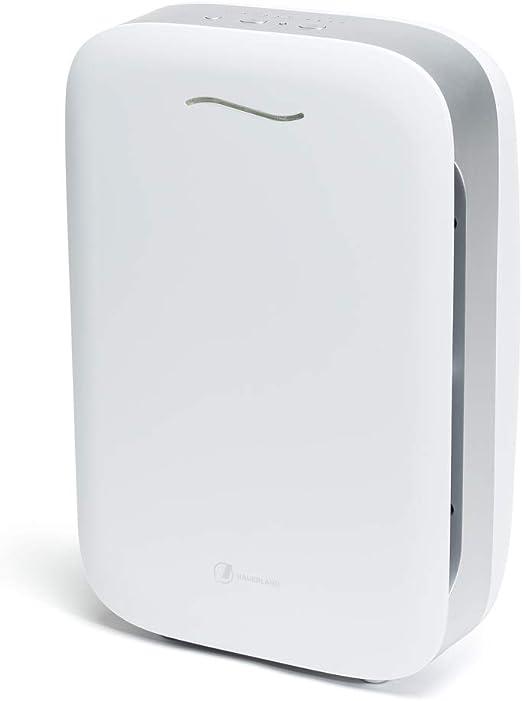 Haverland Airpure | Purificador de Aire IONIZADOR | Hasta 80m² | 1 Prefiltro + 2 Filtros. True HEPA, Desodorizante. Elimina Contaminantes y Alergenos | 5 Niveles: Amazon.es: Bricolaje y herramientas