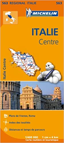Carte Italie Michelin.Amazon Fr Carte Italie Centre Michelin Collectif