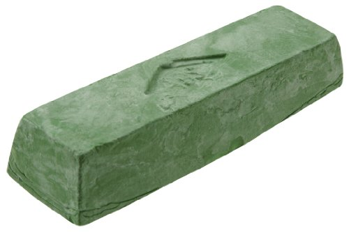 - Woodstock D2912 Buffing Compound, Green, 1 Pound Bar