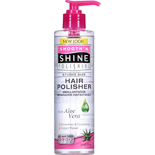 Smooth N Shine Instant Repair Hair Polisher Professional , 8-ounce Pack of 3