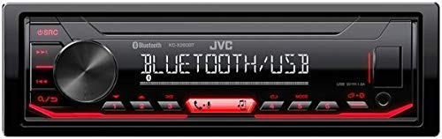 JVC KD-X260BT Digital Media Receiver Featuring Bluetooth/USB/Pandora/iHeartRadio/Spotify / 13-Band -